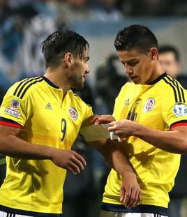 JAMES RODRIGUEZ COLOMBIA PROFUTBOLISTA